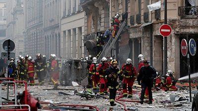 Взрыв Франция