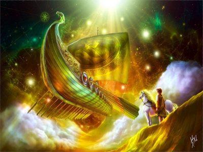 Летающий корабль Ашвинов