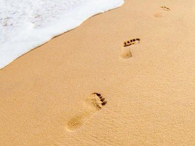 Следы на песке Шравана