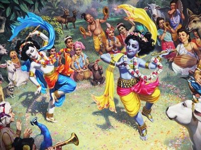 Танцующий Вишну