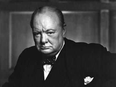 Черчилль и ведьма