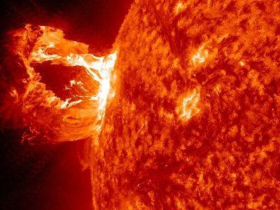 Влияния солнца на землетрясения