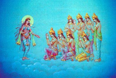 Боги Васу курируют Джаништху