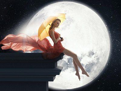 Селена - Белая Луна