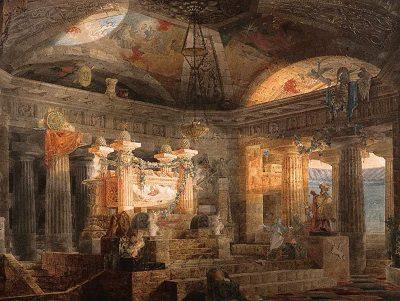 Элевсинские мистерии храм